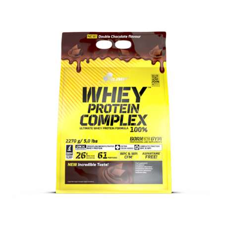 Olimp Whey Protein Complex bag 2270 g   DOUBLE CHOCOLATE