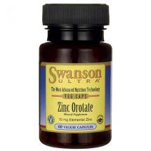 Swanson Zinc Orotate 60 vcaps