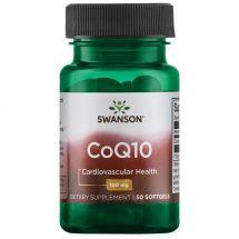 Swanson CoQ10 100mg 50 softgel