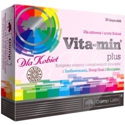Olimp Vita-Min Plus dla Kobiet - 30 kaps.