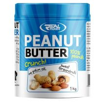 Real Pharm Peanut Butter Crunchy 1000g (tłuste opakowanie)