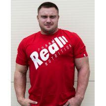 """Real Wear T-shirt """"Sztanga"""" Czerwony"""