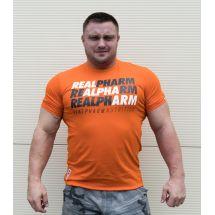 "Real Wear T-shirt ""Alpha Arm"" Orange"
