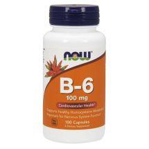 Swanson Vitamin B-6 - 100mg - 100caps.