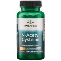 Swanson N-Acetyl Cysteine 600mg 60 veg caps.
