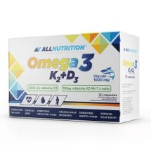Allnutrition Omega 3 D3+K2 30 kaps
