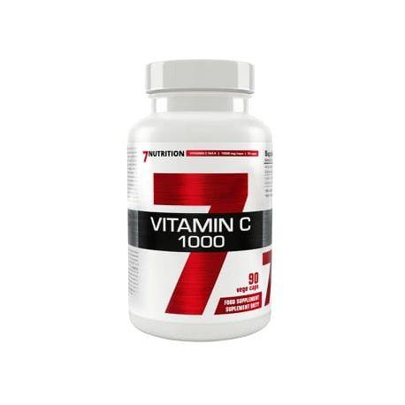 7 Nutrition Vitamin C 1000 90vcaps.