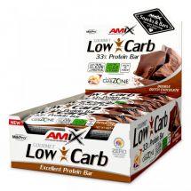 Amix Low Carb 33% Protein Bar 60g nugat caramel (31.05.20r.)