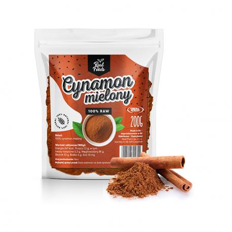 Real Foods - Cynamon mielony 200g