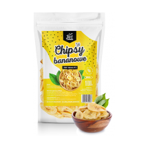 Real Foods - Chipsy Bananowe 1000g