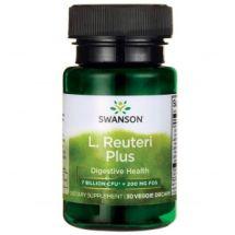 Swanson Probiotic Reteuri Plus 30vcaps.