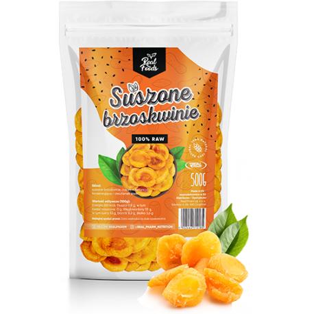Real Foods - Brzoskwinie Suszone  500g