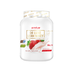 Activlab De Luxe Whey 908g  jogurt truskawka (data do 20.08.2020r.)