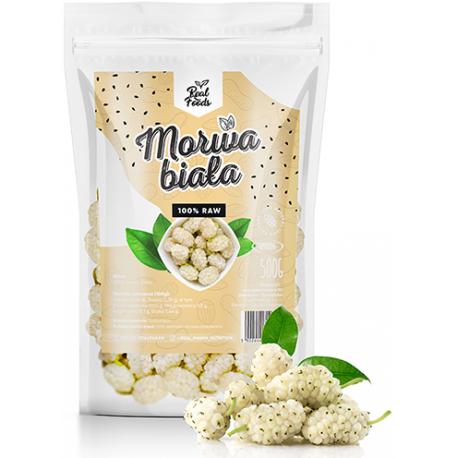 Real Foods - Morwa Biała Suszona 500g