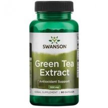 Swanson Green Tea 500mg 100cap