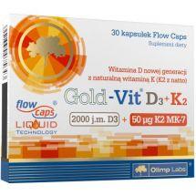 Olimp Gold Vit D3+K2 60 kaps