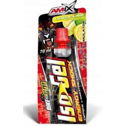 Amix IsoGel Energy Shock 70ml lemon lime (data do 31.10.2020r.)