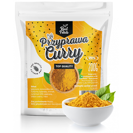 Real Foods - Curry 200g