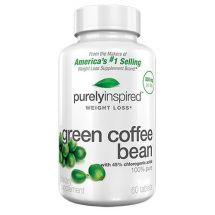 Purely Inspired Green Coffee Bean - 60veg tab