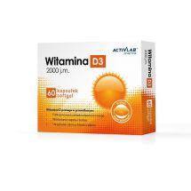 Activlab Witamina D3 2000  60 kaps