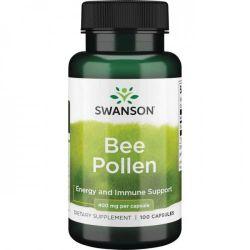 SWANSON Bee Pollen 400mg - 100 kaps. (data 31.05.2021)