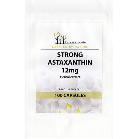 FOREST Vitamin Astaksantyna 12mg BIO 100kaps.