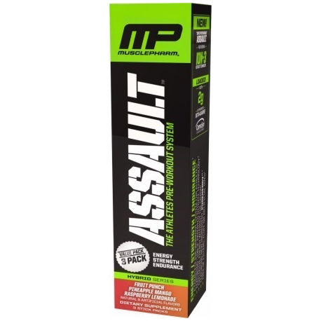 Muscle Pharm Assault - 3 saszetki po 18g