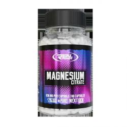 Real Pharm - Magnesium Citrate Cytrynian Magnezu 90 kaps