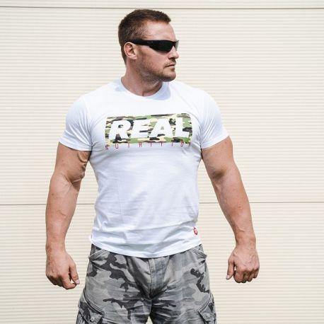 Real Pharm T-shirt WHITE MORO