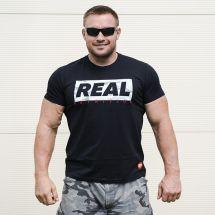 Real Pharm - T-shirt REAL MORO BLACK