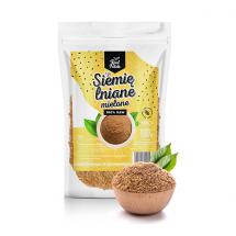 Real foods - siemie lniane mielone 1000g