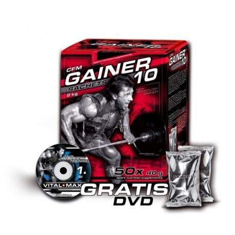 Vitalmax CFM Gainer 10 4kg (100x40g)