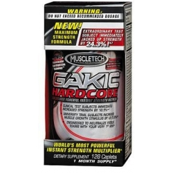 MuscleTech Gakic Hardcore 128 tab.