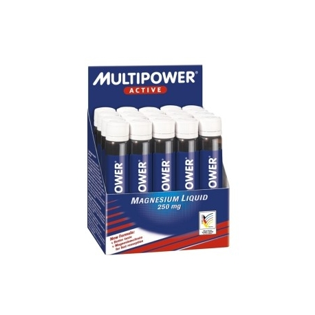 Multipower Magnesium Liquid 20 amp. x 20 ml