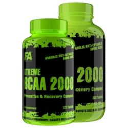 FA Nutrition Xtreme Bcaa 125 kaps.