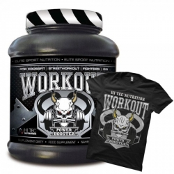 Hi Tec  Workout Power Booster 1250g + T-shirt gratis