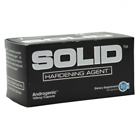 BPI - SOLID Hardening Agent - 28 caps