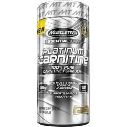 Muscletech Platinum Pure L-Carnitine 180 kaps