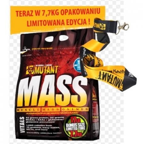 PVL Mutant Mass 7,7kg + smycz gratis!