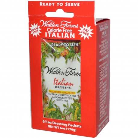 Walden Farms Italian Dressing 6 sasz