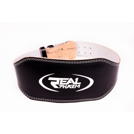 Real Pharm Pas Szeroki WIDE LEATHER (AS-1704)