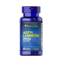 Puritans Acetyl L-Carnitine 500mg 60cap