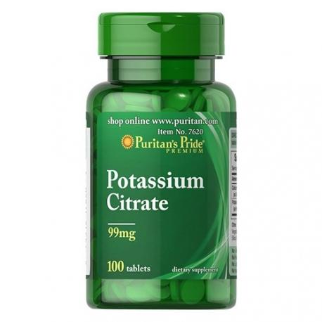 Puritans Pride Potassium Citrate 100 tabs