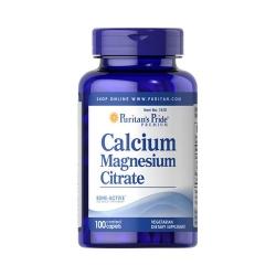 Puritans Pride Calcium Magnesium Citrate 100 kaps