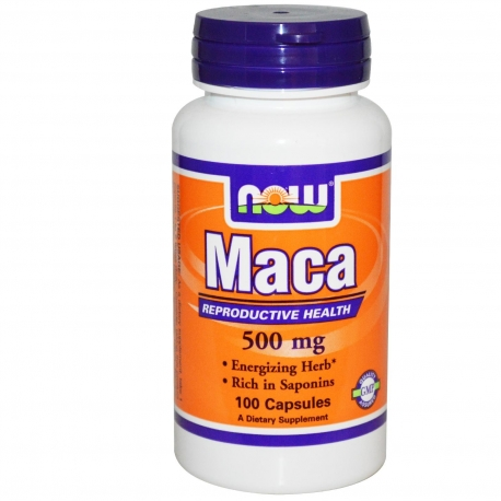 Now Maca 100 kap.