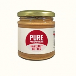 Pure Natural Organic Hazelnut Butter 170g