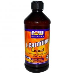 Now Foods Carnitine Liquid 473ml
