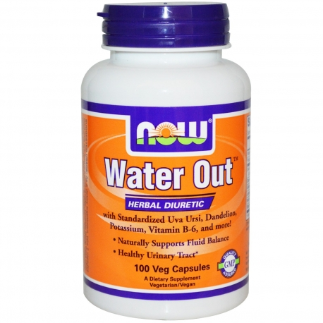Now Foods Water Out 100 kaps