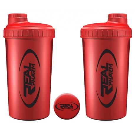 Real Pharm Shaker - 700 ml - Czerwony