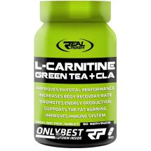 Real Pharm L-CARNITINE, GREEN TEA & CLA - 90 tabs.